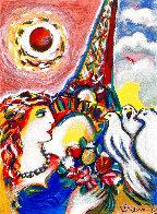 Dove's Promise Embellished HS Limited Edition Print by Zamy Steynovitz - 0