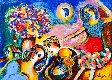 Moonlight Dancing Limited Edition Print - Zamy Steynovitz