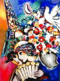 Eiffel Flowers 2000 HS Limited Edition Print - Zamy Steynovitz