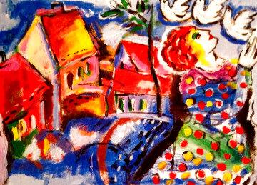 My Village PP 2007 Limited Edition Print - Zamy Steynovitz