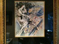 Untitled Painting 32x29 HS Original Painting by Zamy Steynovitz - 1