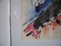 Three Women Together 1985 33x27 HS Original Painting by Zamy Steynovitz - 2