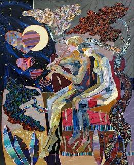 Musica Para El Alma 2019 31x25 Original Painting by Tadeo Zavaleta