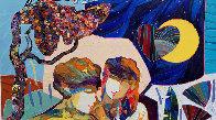 Llave De Mi Corazon 2019 31x25 Original Painting by Tadeo Zavaleta - 2