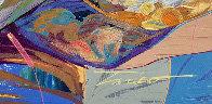 Llave De Mi Corazon 2019 31x25 Original Painting by Tadeo Zavaleta - 4