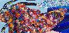 Llave De Mi Corazon 2019 31x25 Original Painting by Tadeo Zavaleta - 1