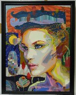 Looking For You 2012 41x53 Super Huge  Original Painting by Tadeo Zavaleta - 1