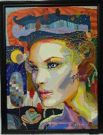 Looking For You 2012 41x53 Super Huge  Original Painting by Tadeo Zavaleta - 2