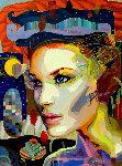 Looking For You 2012 41x53 Original Painting - Tadeo Zavaleta