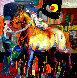 Acaricia Mi Mano 2011 55x55 Original Painting by Tadeo Zavaleta - 0