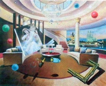 Great Bouguereau 2010 30x24 Original Painting - Leonardo G. Zhang