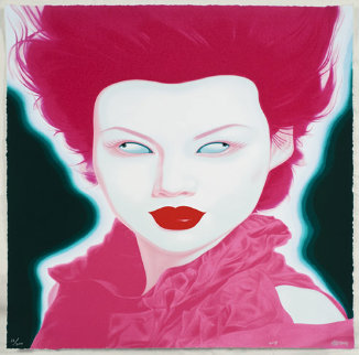 Chinese Portrait No.38 2008 Limited Edition Print - Feng Zhengjie