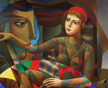 Brightly 2016 40x50 Huge Original Painting - Oleg Zhivetin