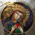 Big Heart 2016 38x38 Original Painting - Oleg Zhivetin
