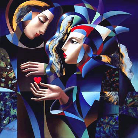 Tender Heart 1989 Limited Edition Print by Oleg Zhivetin