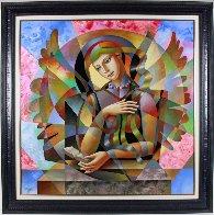 Poetry 2015 49x49 Super Huge Original Painting by Oleg Zhivetin - 1