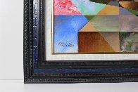 Poetry 2015 49x49 Super Huge Original Painting by Oleg Zhivetin - 2