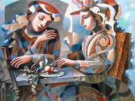 At the Table AP Limited Edition Print by Oleg Zhivetin - 0