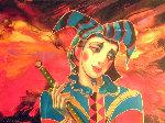 Dreaming Joker Limited Edition Print - Oleg Zhivetin