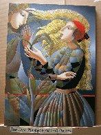 Date 2018 44x32 Super Huge Original Painting by Oleg Zhivetin - 2