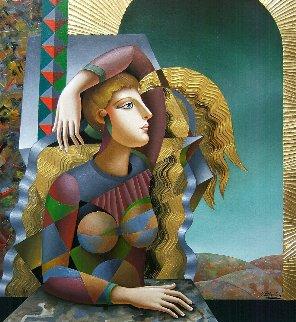 Great Emptiness 2018 40x30 Huge Original Painting - Oleg Zhivetin