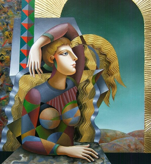 Great Emptiness 2018 40x30 Original Painting by Oleg Zhivetin
