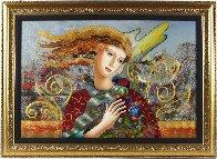 Soft Breeze 32x44 Super Huge Original Painting by Oleg Zhivetin - 1