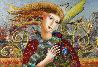 Soft Breeze 32x44 Original Painting by Oleg Zhivetin - 0
