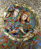 Two Flowers 52x62 Original Painting by Oleg Zhivetin - 0