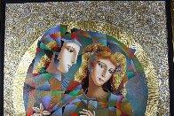 Two Flowers 52x62 Super Huge Original Painting by Oleg Zhivetin - 2