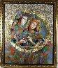 Two Flowers 52x62 Original Painting by Oleg Zhivetin - 1