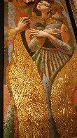 Angel Wings 2008 80x35 Huge Original Painting by Oleg Zhivetin - 4