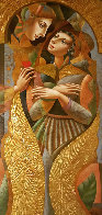 Angel Wings 2008 80x35 Huge Original Painting by Oleg Zhivetin - 1