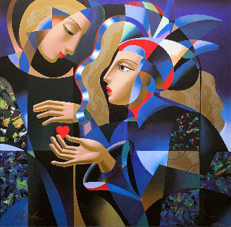 Tender Heart Limited Edition Print by Oleg Zhivetin