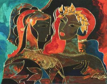 Conversation 2003 Limited Edition Print - Oleg Zhivetin