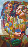 Gentle Touch 1999 80x48 Super Huge  Original Painting by Oleg Zhivetin - 0