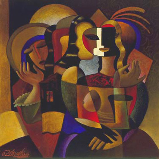 Messenger 1997 Limited Edition Print by Oleg Zhivetin