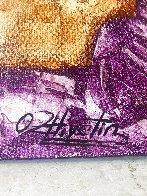 Purple Mood 2008 68x68  Super Huge Original Painting by Oleg Zhivetin - 4