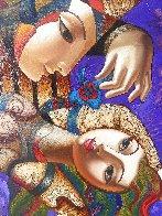 Purple Mood 2008 68x68  Super Huge Original Painting by Oleg Zhivetin - 2
