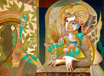 Oriental Dream 33x41 Super Huge Original Painting - Oleg Zhivetin