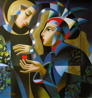 Tender Heart 1999 Limited Edition Print - Oleg Zhivetin