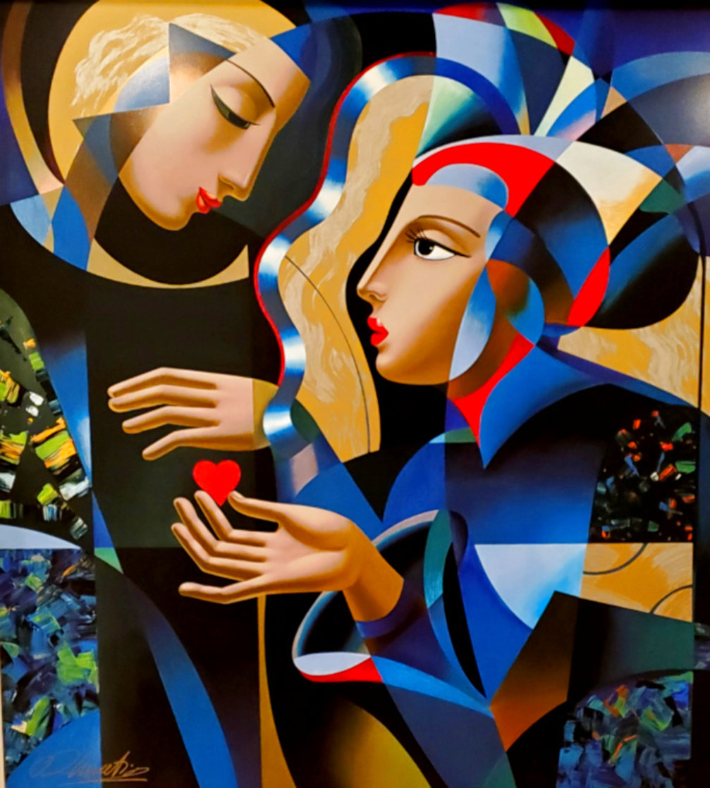 Tender Heart 1999 Limited Edition Print by Oleg Zhivetin