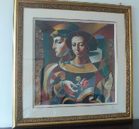 Renaissance Lovers 1998 Limited Edition Print by Oleg Zhivetin - 2