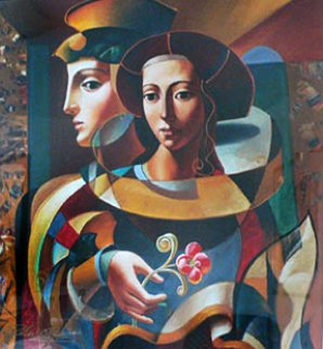Renaissance Lovers 1998 Limited Edition Print by Oleg Zhivetin