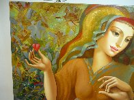 Girl's Party 30x60 Original Painting by Oleg Zhivetin - 2