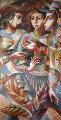 Three Graces 62x21 Limited Edition Print - Oleg Zhivetin
