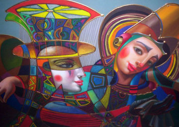 Colorful Circus Limited Edition Print by Oleg Zhivetin