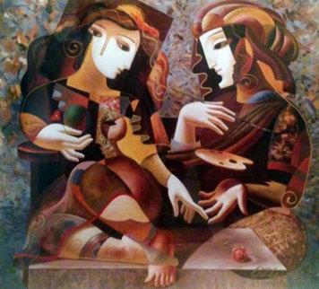 Artist's Palette 1998 Limited Edition Print by Oleg Zhivetin