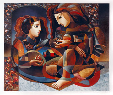 Their Harvest 34x40 Huge  Limited Edition Print - Oleg Zhivetin