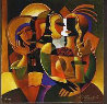 Artists Palette, Messenger, First Date, Set of 3  Limited Edition Print by Oleg Zhivetin - 1